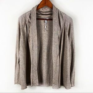 Joie Small Cashmere and Wool Blend Raglan Cardigan